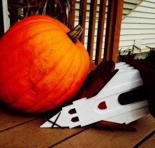 Church and Pumpkin